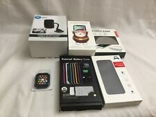 Lot Of 6 New Cellphone Accessory Items! Battery Cases, Car Mounts, Power Bank