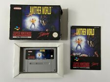Rare! another world version frg-super nintendo snes