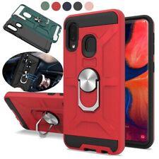 For Samsung Galaxy A10e A20 A30 A50 A30S A50S Rugged Kickstand Case Hybrid Cover