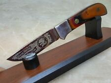 Fixed Blade Knife Holder Wood Display Stand