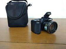 Nikon COOLPIX L810 16.1MP Digital Camera Black & BlueCOMPLETE w/BOX & MISC
