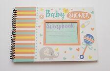 Baby Shower Scrapbook/memoria/Libro De Visitas/álbum de fotos-Niña páginas/BOY-20 - Nuevo-Asesoramiento