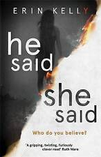 He Said/She Said by Kelly, Erin | Hardcover Book | 9781444797152 | NEW