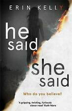 He Said/She Said: the gripping Sunday Times bestseller with a shocking twist by