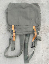 YUGOSLAVIAN ARMY SMALL CANVAS COMBAT RUCKSACK (GREY) FROM BALKAN WAR PERIOD a