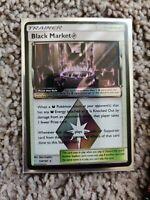 Black Market Prism Star - 134/181 - Holo Rare NM Sun & Moon Team Up
