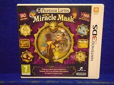 3DS PROFESSOR LAYTON And The Miracle Mask Puzzle Game 3DS XL PAL UK
