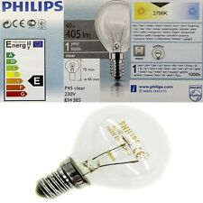 10 x Philips Glühbirne 40 Watt E14 klar Glühlampe Glühbirnen Tropfenform