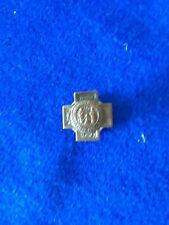 Vintage Spanish American War Veterans Lapel Button Pin Cuba 1898-1902 Discharge?