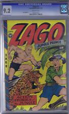 Zago #3 Fox 1949 CGC 9.2 (NEAR MINT -)