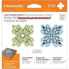 Fiskars Fuse Creativity Design Set 0110 ELEMENT Die Cut & Letterpress