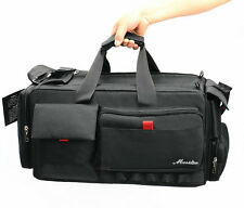 Camcorder VCR Video Camera Bag Shoulder Case for Nikon Canon Sony Large volume A