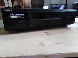 Hifi Doppel-Tape Sony TC-WE405 mit FB Sony RM-S920