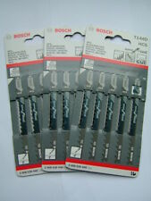 15 x Bosch T144D Jigsaw Blades for Wood (3 packs of 5)