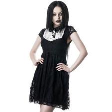 Killstar Gothic Goth Okkult Babydoll Kleid Minikleid - Agnes Vintage Victorian