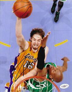 Pau Gasol Signed 8x10 Photo Autographed JSA COA Los Angeles Lakers 64