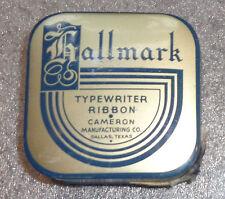 old Hallmark typewriter ribbon tin