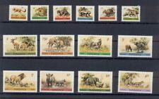 Wilde Tiere , Wildtiere 1980   Tansania , animals  Mi. 161- 174  kpl. Satz    **