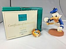 "2004 WDCC DISNEY DONALD DUCK ""*!#@"" ORPHAN'S BENEFIT 4215/6000 BOX, COA AND PIN"