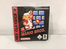 Super Mario Bros. Classic NES Series Sealed GBA Nintendo Gameboy Advance NEW
