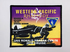 "USN/NAVY VFA-102 ""Diamondbacks"" /CVN-76 WESTPAC cruise 2018 Rhapsody patch"
