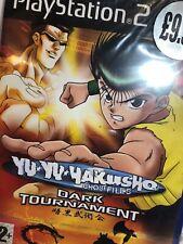 SEALED NEW!! PlayStation 2: Yu Yu Hakusho: Dark Tournament PS2 UK PAL (3)