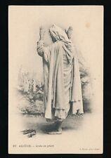 ALGERIA Alger Arabe en priere used from Bone long message 1908  PPC