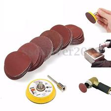 2'' 50mm Hook & Loop Sanding Pad 3mm Shank With 60pcs 100 to 2000 Grit Sand Kit