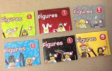 Lego Mini figure POSTERS 2012 Series 3,5,7,8,9,10 lot of six miniature booklets