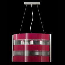 Lampadario 3 Luci E27 in Plexiglass Vari Colori Design Moderno Salotto Soggiorno