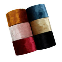 1 yard Solid color Velvet Ribbon Trim Crafts Handmade Material DIY Accessories