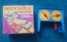 Vintage 1970's Matchbox Lesney Superfast ~ SF-18 LAP COUNTER SET with Box