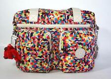 KIPLING SASHA SHERPA SL4763 Carry On Tote Shoulder Bag Multi Splatter