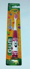 GUM Crayola Toothbrush 232 Pip-Squeaks Ultrasoft Purple New