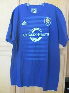 Orlando City SC #20 Shea adidas Major League Soccer MLS Purple T-Shirt Size XL