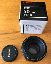 Objectif Canon EF 50mm f/1.8 ii