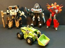 Marvel Crossover & ROTF Transformers Lot of 4 Figures with Revenge of the Fallen