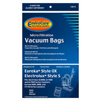 Eureka OX &  Electrolux S Canister Vacuum Bags * Fits Harmony, Oxygen and more