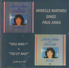 "Mireille Mathieu (2in1) Sings Paul Anka ""You and I"" + ""Toi et Moi""  CD"