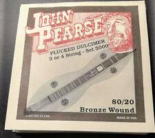 John Pearse 4 Corde per Cembalo Dulcimer Cembal Hackbett Set 5000 Bronz Wound