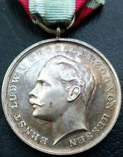 ✚7231✚ German Hesse-Darmstadt General Honour Decoration WW1 SILVER MEDAL