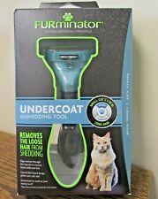 NEW!! FURminator UNDERCOAT DeShedding Tool - SMALL Cat LONG Hair <10lbs (9275)
