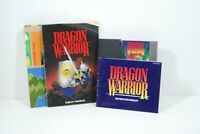 Nintendo Entertainment System NES Dragon Warrior I w/ Map, Handbook, Manual, Box