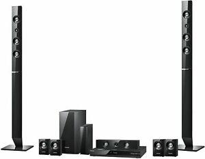 Samsung HT-C6730 W 7.1 3D Blu-Ray Heimkinosystem 1330 Watt perlschwarz