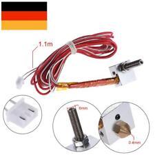 DIY Hotend Extruder-Kit 0.4mm ugello M6 30mm Heat p/RapRep Anet A2 A8 3D Printer