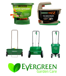 Garden Spreaders Rotary, Drop, Hand, Handy, Easy Seed Spreader From Evergreen