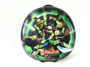 """TMNT Teenage Mutant Ninja Turtle Round Hard Shell luggage Pilot Case 17"""""""