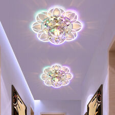 Modern LED Ceiling Crystal Surface Mounted Hotel Home Chandelier Pendant Light