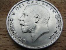 1914 HALF CROWN KING GEORGE V. GB HALFCROWN VERY NICE 925 SILVER WW1 SUPERB NICE