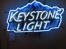 "New Keystone Light Mountain Bar Lamp Neon Sign 24"" With Hd Vivid Printing"